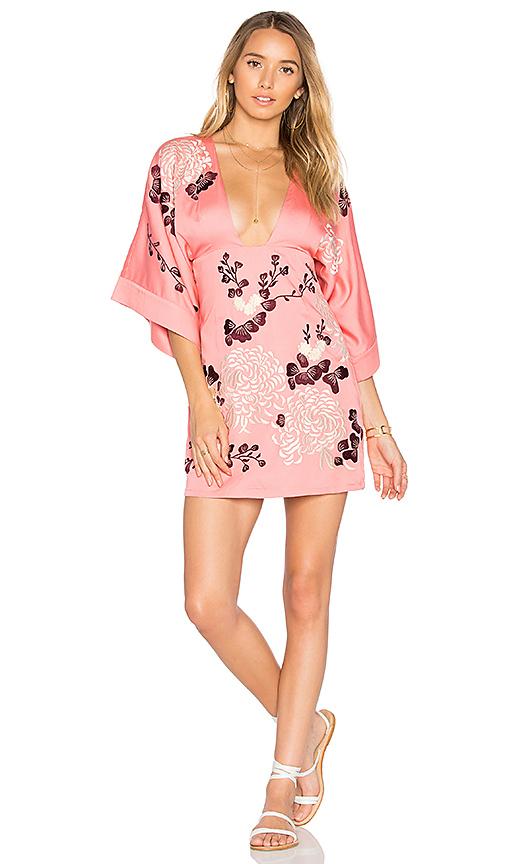 MAJORELLE Windmill Dress in Pink