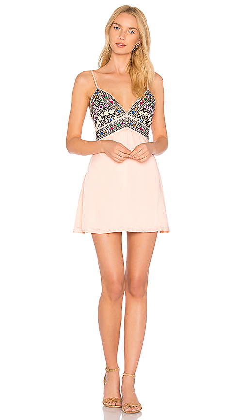 MAJORELLE Anchor Dress in Coral