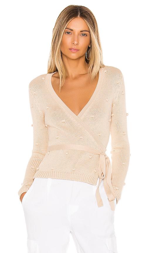 Majorelle Bonita Sweater In Cream. In Neutral