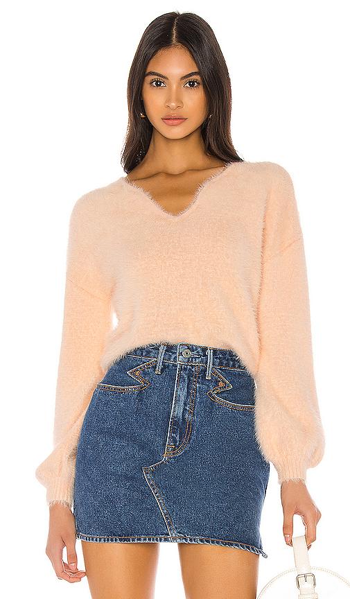 Majorelle Alexa Sweater In Pink.