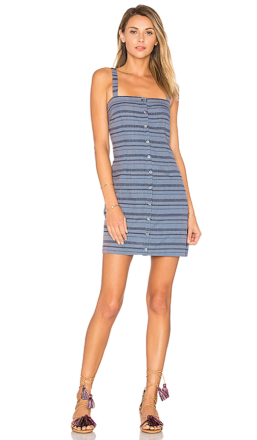 Mara Hoffman Sheath Mini Dress in Blue