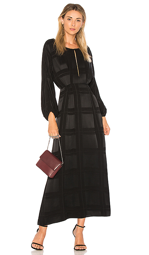 Mara Hoffman Harper Maxi Dress in Black