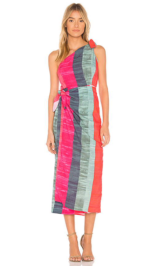 Mara Hoffman Bette Dress in Pink