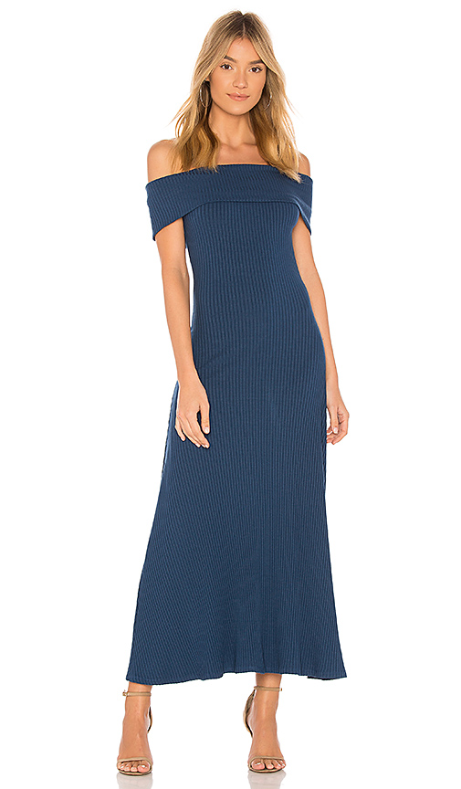 Mara Hoffman Imogen Dress in Blue