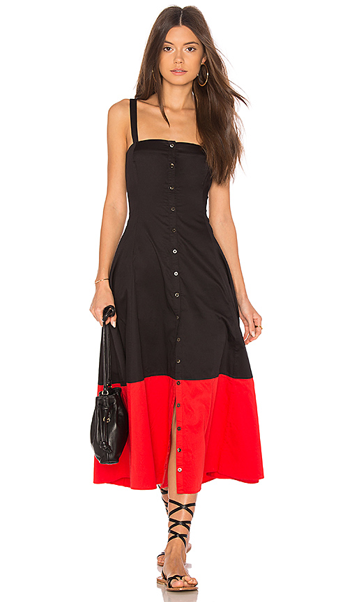 Mara Hoffman Marina Dress in Black