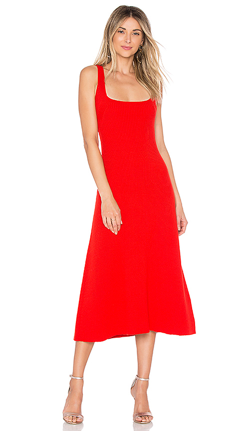 Mara Hoffman Vita Dress in Red