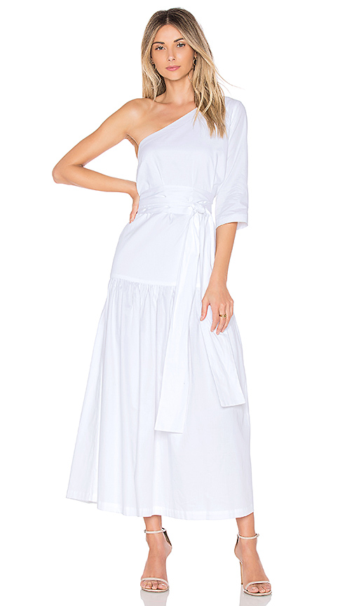 Mara Hoffman Sam Dress in White