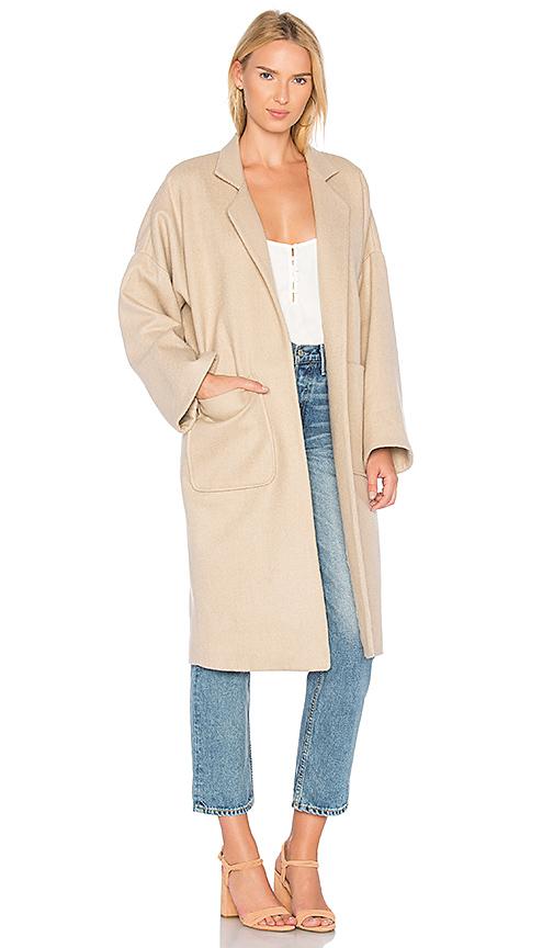 Mara Hoffman Rita Coat in Tan