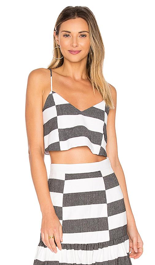 Photo of Mara Hoffman Crop Cami in Black & White - shop Mara Hoffman tops sales