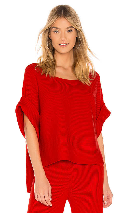 Mara Hoffman Margaret Top in Red