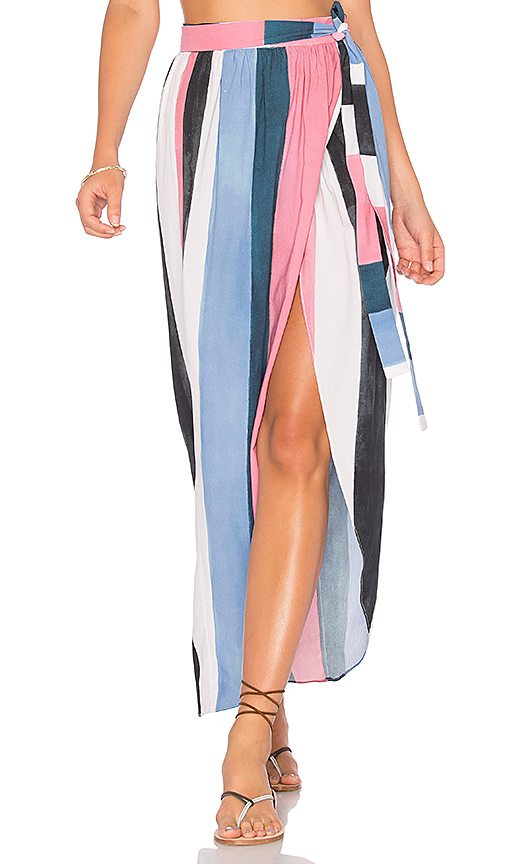 Mara Hoffman Farrah Skirt in Blue