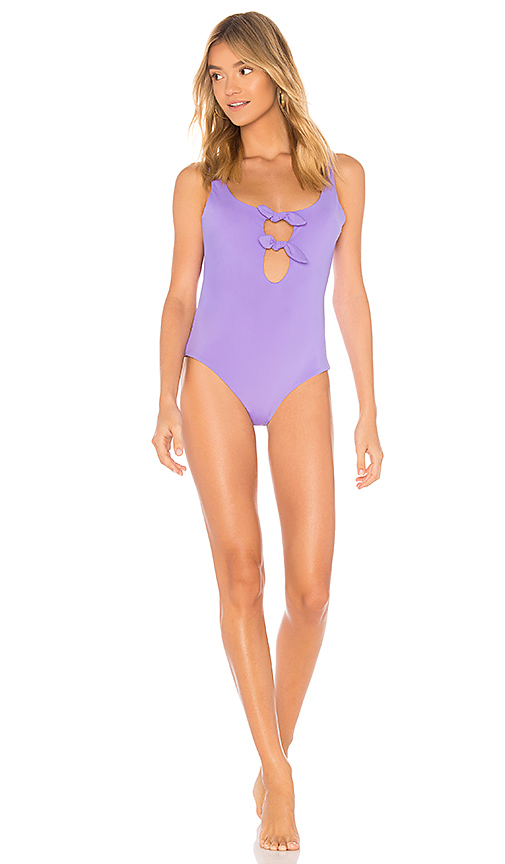 Mara Hoffman Maven One Piece in Purple