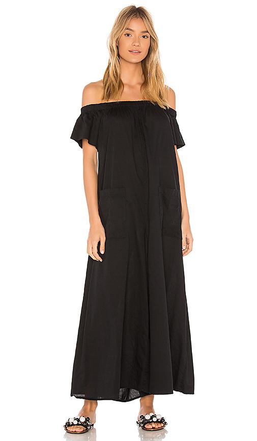 Mara Hoffman Blanche Jumpsuit in Black