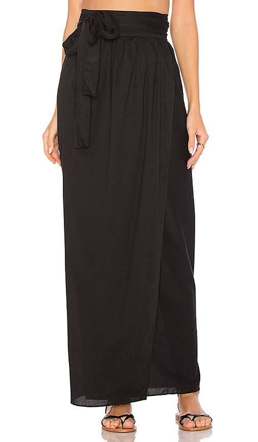 Mara Hoffman Cora Skirt in Black