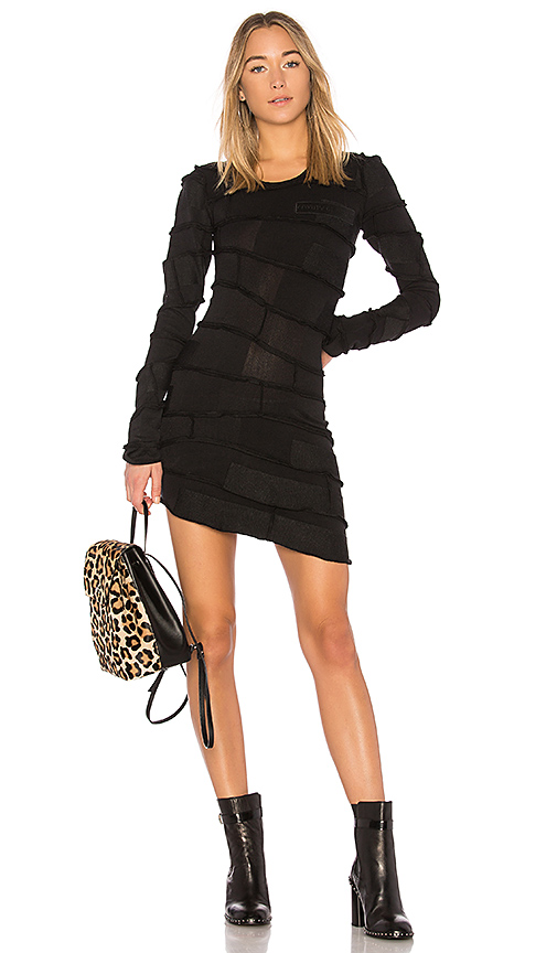 Marcelo Burlon Kentak Dress in Black