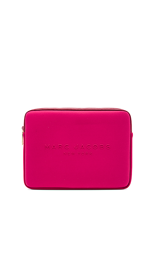 Marc Jacobs Neoprene 13 Computer Case in Fuchsia