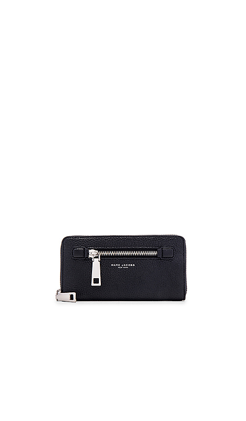 Marc Jacobs Gotham City Standard Continental Wallet in Black