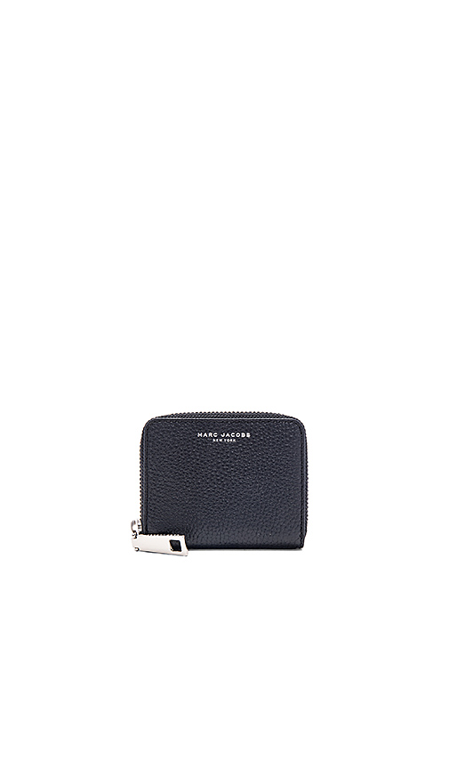 Marc Jacobs Gotham City Zip Card Case in Black