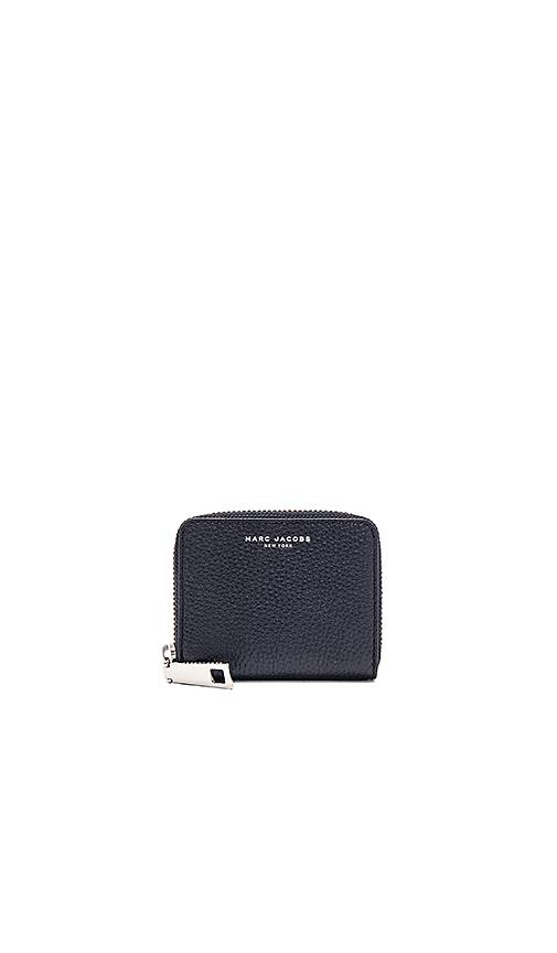 Marc Jacobs Gotham City Zip Card Case in Black