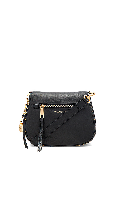 Marc Jacobs Recruit Nomad Shoulder Bag in Black.