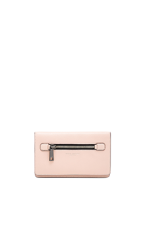 Marc Jacobs Gotham Flat Phone Pouch in Blush
