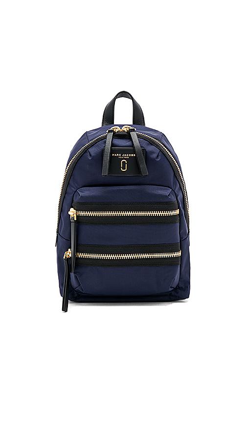 Marc Jacobs Biker Mini Backpack in Navy