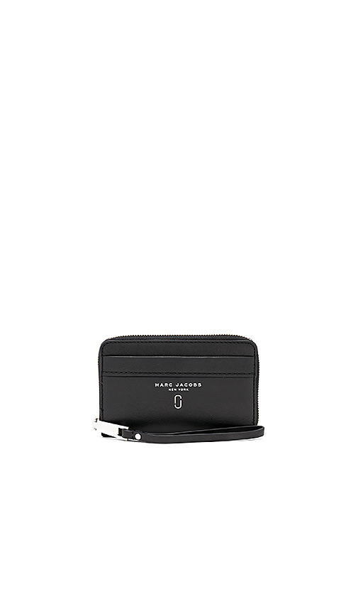 Marc Jacobs Tied Up Zip Phone Wristlet in Black