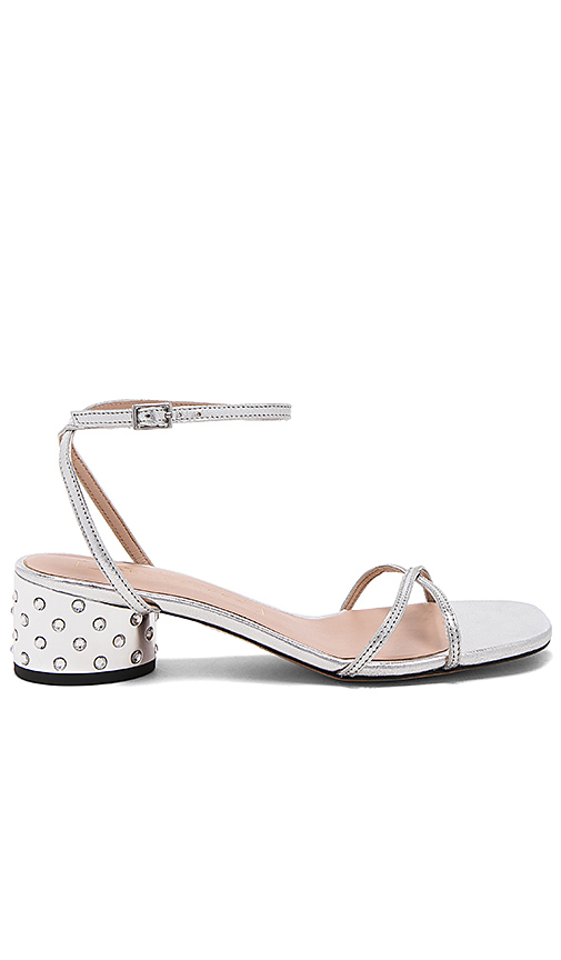 Marc Jacobs Sybil Sandal in Metallic Silver