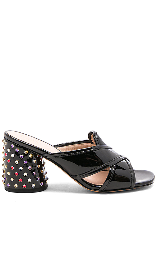 Marc Jacobs Aurora Strass Mule in Black