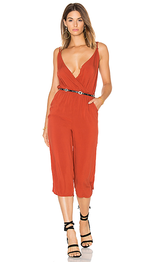 MATE the Label Joie Jumpsuit in Rust. - size M (also in S)