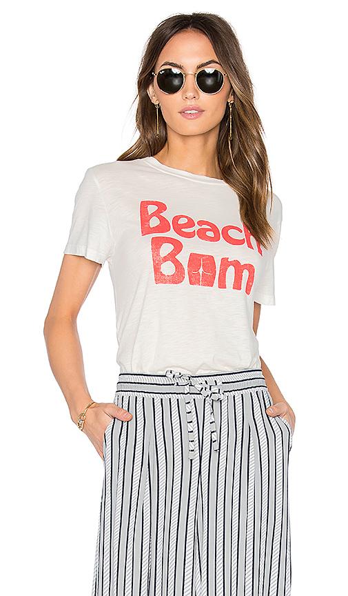 MATE the Label Beau Beach Bum Crew in White
