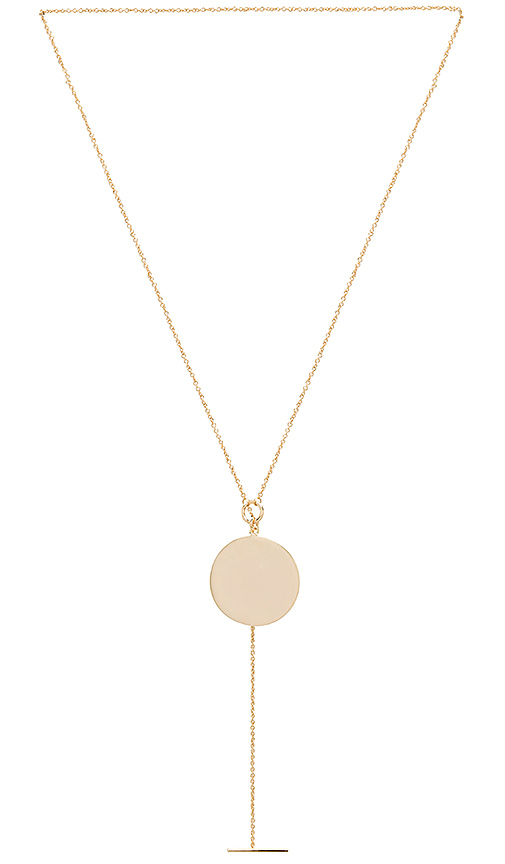 Melanie Auld Toggle Pendant in Metallic Gold