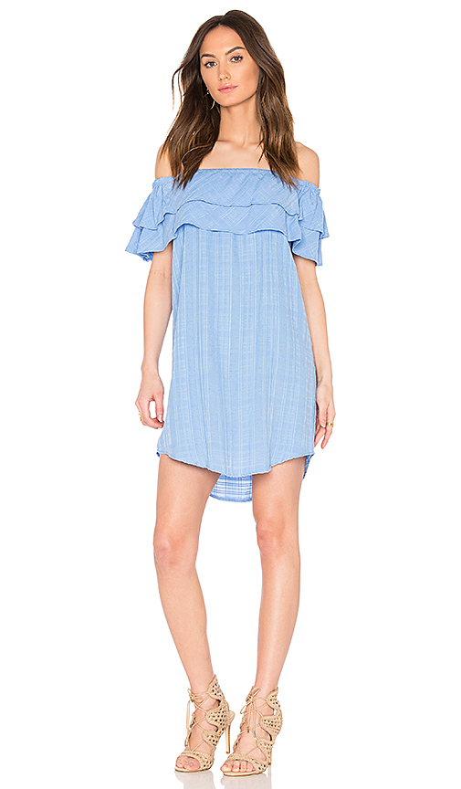 maven west Oliver Dress in Blue