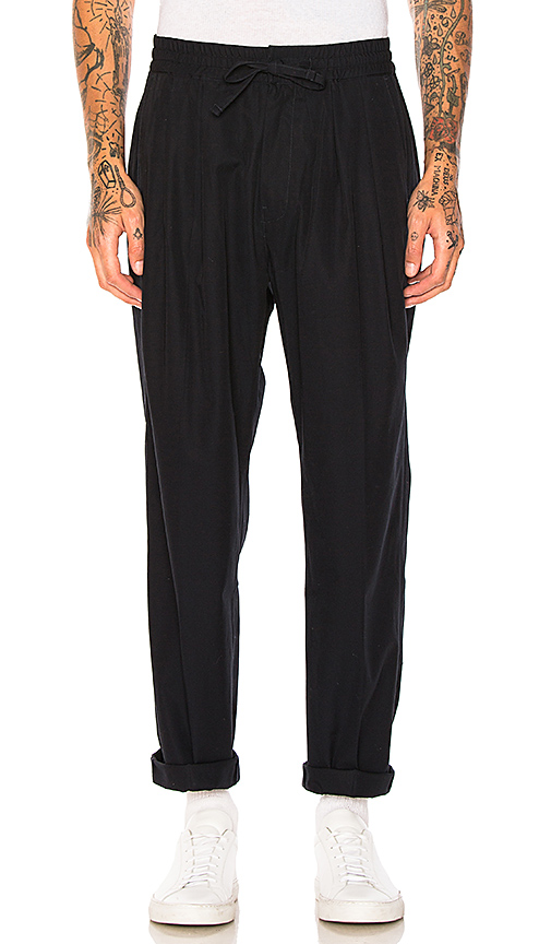Maiden Noir Baggy Trousers in Navy. - size 3 (also in 4)