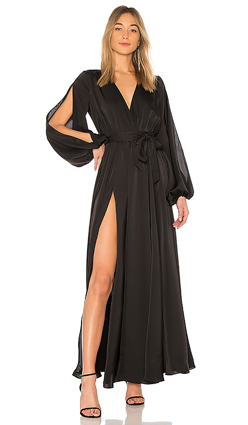 Michael Costello x REVOLVE Eric Gown in Black