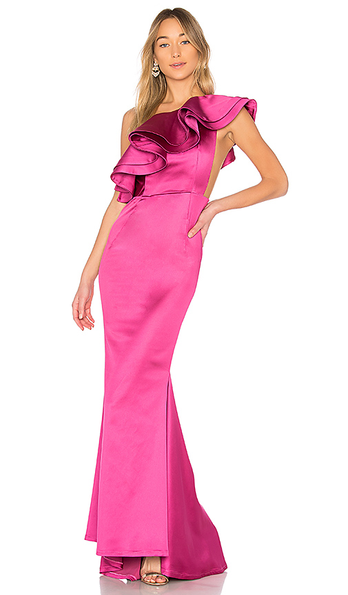 Michael Costello x REVOLVE Joey Gown in Pink