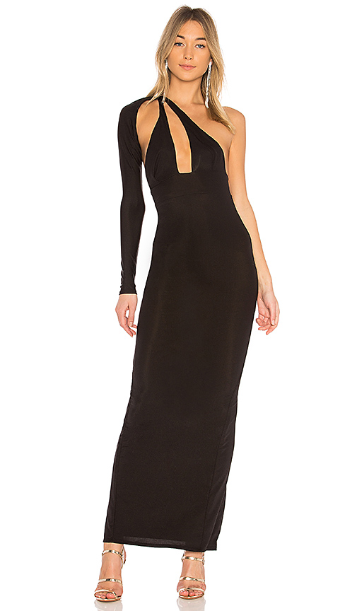 Michael Costello x REVOLVE Bradley Maxi in Black
