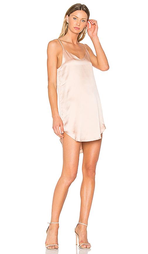 MERRITT CHARLES Goldie Dress in Blush