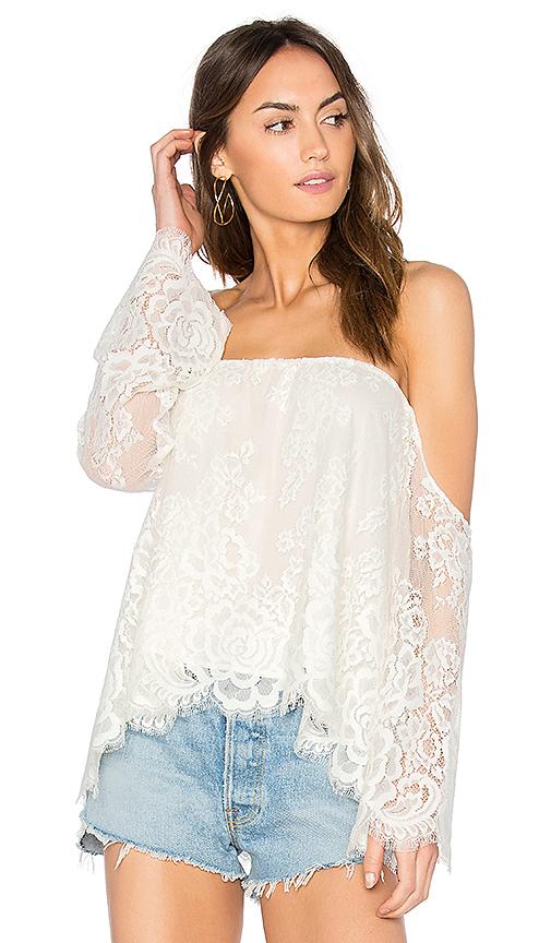 MERRITT CHARLES Benhati Blouse in White