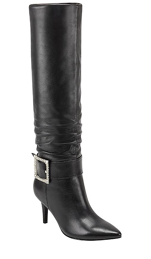 Marc Fisher X Elizabeth Sulcer Gresha Boots in Black