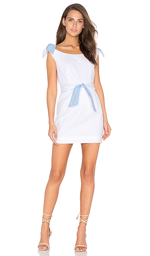 MILLY Candice Dress in White