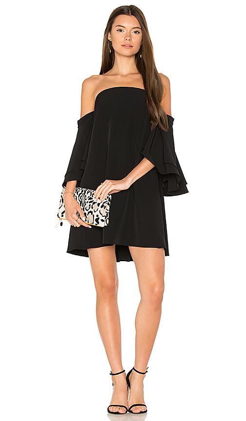 MILLY Mila Dress in Black