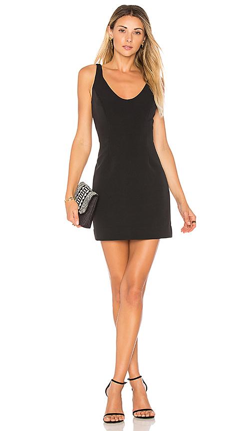 MILLY Cora Mini Dress in Black