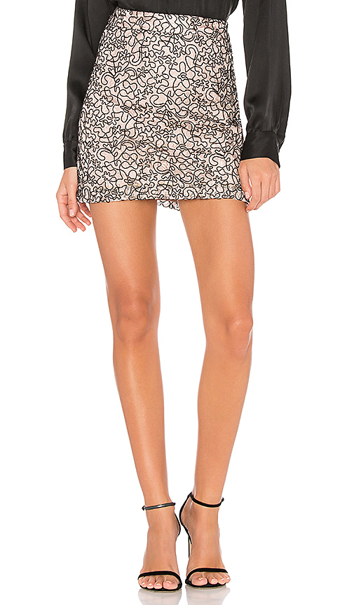 MILLY Modern Lace Skirt in Pink. - size 2 (also in 4,8)