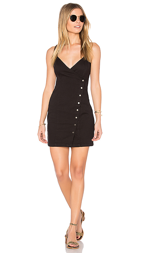 MINKPINK Lucy Button Wrap Dress. - size L (also in M,S,XS)