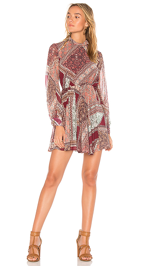 MINKPINK Florence Mini Dress in Red