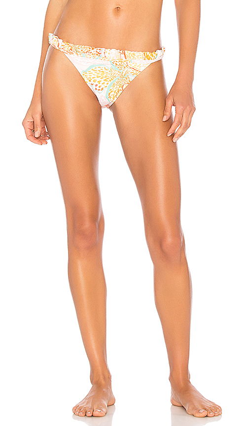 MINKPINK Animal Orchid Cheeky Hipster Bottom in Orange