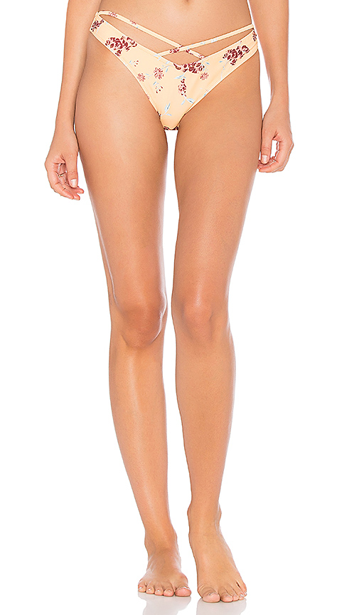 MINKPINK Sundance Floral Cheeky Bottom in Orange
