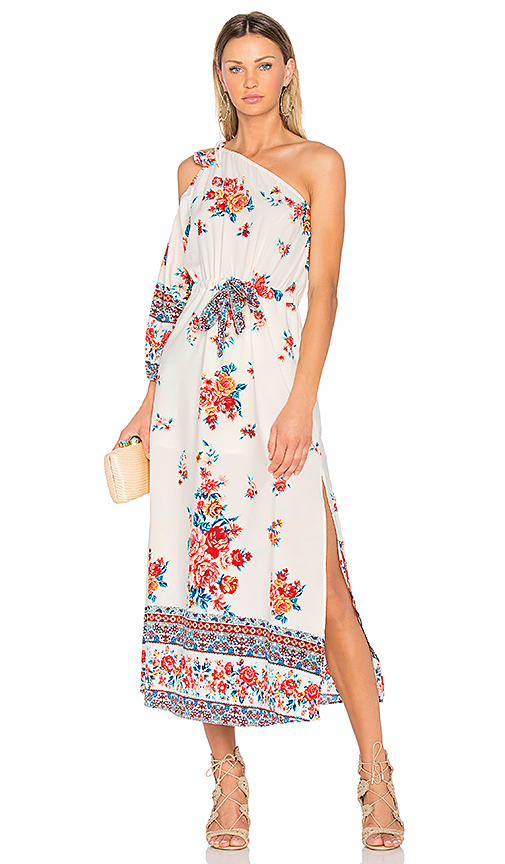 MISA Los Angeles Catalina Dress in White