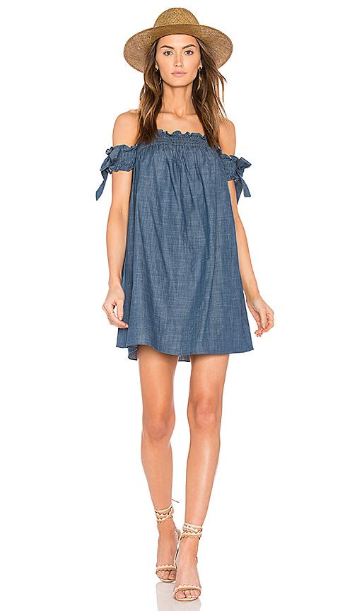 MISA Los Angeles Violeta Dress in Blue
